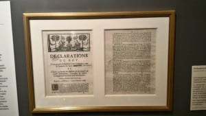 Founding declaration of the French East India Company